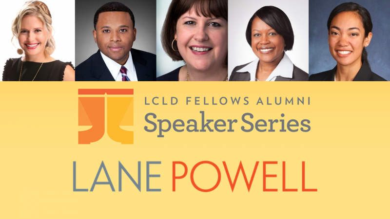 LCLD Pathways to Leadership hosted by Lane Powell
